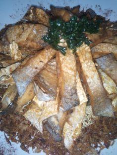Pomfred Freid Fish Dry