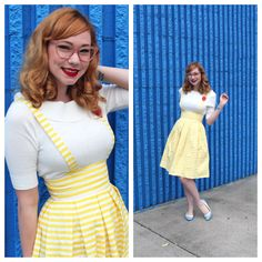 Retro Round Up: Jitterbug Suspender Skirt