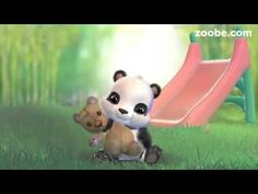The story of the cutest panda – Pao — Zoobe - animated video messages, free app for iOS and Android. Get famous characters like The Smurfs, Maya the Bee. Happy Birthday, Birthday Songs, Funny Videos, Surah Fatiha, Learn Quran, Animation, Funny Bunnies, Good Morning Good Night, Cute Panda