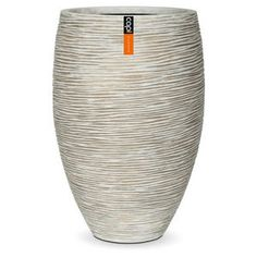 Capi Europe Nature Outdoor Vase Elegant Deluxe Ivory 40x61cm