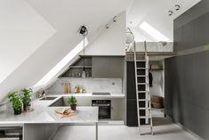 Gravity Home — Small loft with balcony - FLOORPLAN...