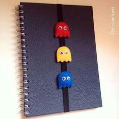 Pacman felt bookmark