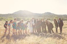 Bridal Party photo , #mountains, #rustic  #bridalparty