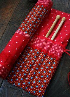 pochette nécessaire de tricot
