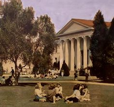 Canoga Park High School in the 1950s. LOVE!