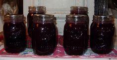 Blueberry Sauce  2 Quarts Blueberries 5 cups Water 2 Cups Sugar 1 lemon 3 T. bottled lemon juice