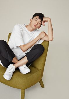 """koreanmodel: """"Kim Sunghee and Ahn Seung Jun for Low Classic Fall 2014 collection """""""