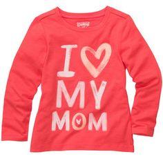 """""""I <3 My Mom"""" #oshkoshbgosh"""