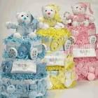 Towel/Diaper Baby Shower Cakes