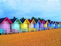 cabines de plage Wallpaper - ForWallpaper.com