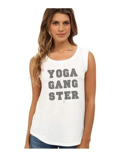 3b31ace242287e YOGA GANGSTER Rocker Tee. Cute Workout TanksYoga ...