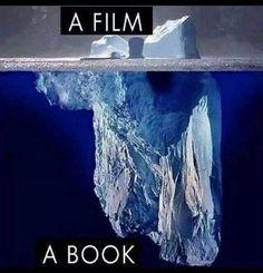 Wild Salt Spirit: Below the Surface, Iceberg, Antarctica. Books Vs Movies, Theatre Nerds, Theatre Jokes, Photos Voyages, Humor Grafico, Book Memes, Imagines, I Love Books, Read Books