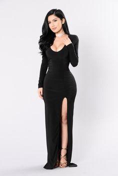 Love Sex Magic Dress - Black