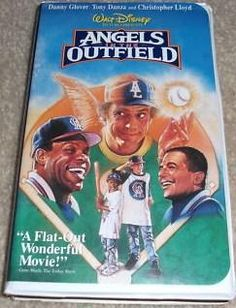 Walt Disney Movie Angels in the Outfield vhs in clam shell $3