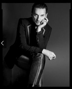 Dave Gahan of Depeche Mode Martin Gore, Dave Gahan, Alan Wilder, Skinny Suits, Solo Pics, Black White, T Magazine, Le Male, Hollywood