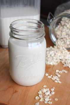 This Homemade Oat Milk is thick, creamy and inexpensive to make!