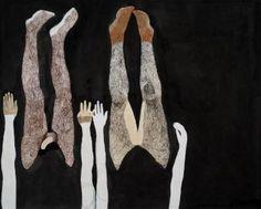 "Saatchi Art Artist Audrey Stommes; Painting, ""Lovers"" #art"