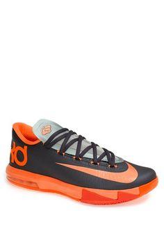Nike KD 9 Boys' Grade School Basketball Shoes Black/Jade