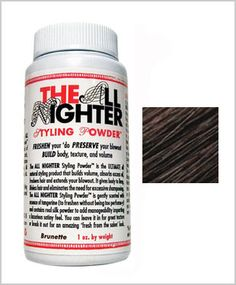 styling powder No talc, no aluminum, no silica and absolutely no synthetics of any kind!  $18.00