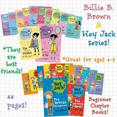 Billie B Brown and Hey Jack from Usborne! http://www.DaniellesBooks.com