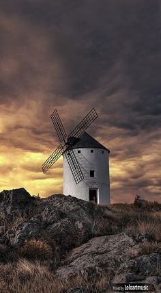 Windmill, Herencia , Ciudad Real, Spain