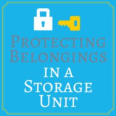 Movers.com - Protecting Belongings in a Storage Unit