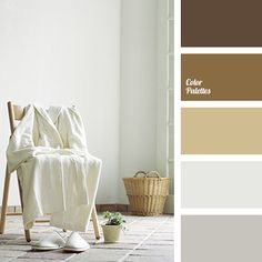brown, color of chocolate, color of wood, cool brown, dark brown, dirty-brown, gray, light gray, sand color, sepia, shades of beige, shades of brown, shades of gray, white and gray.