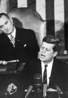 Lyndon Johnson & John F. Kennedy