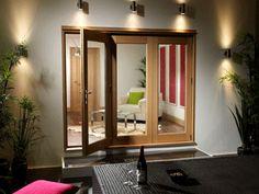 La Porte Vista Folding Sliding Doors Windows And Doors, Sliding Doors, Bunker, Mirror, Interiors, Furniture, Home Decor, Courtyards, Gates