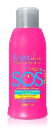 Forever Liss S.O.S. Reconstrutor Anti Emborrachamento 300ml Forever Liss