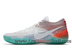 e92d2e08a2c Nike Kobe A.D. NXT 360 White Multicolor Chaussures de BasketBall Pas Cher  Pour Homme AQ1087-