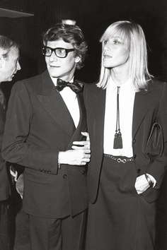 Betty Catroux, Loulou de Falaise and Catherine Deneuve who is your favorite Yves Saint Laurent muse? http://fashionfix.net-a-porter.com/newsflash/fashion-icon-yves-saint-laurents-muses
