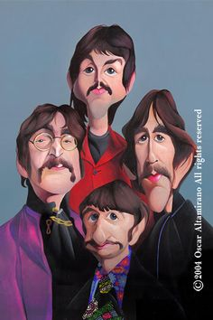 The Beatles 67 Painting