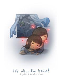 It's ok... I'm here. by ~hjstory on deviantART