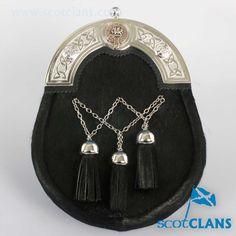 Crichton Clan Crest Sporran