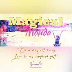 #MagicalMonday  Magic happens everyday when you pay attention.  Your perspective is what gives you the advantage of experiencing magic like no one can!  What magical ideas are you keeping to yourself?  Someone is waiting for your magic!  Shine and sparkle brightly! Let the whole world experience your light!  #jhoannarae #soulgeniussynergist #yoursoulsynergy