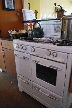 o keefe merritt vintage gas stove top clock timer drop in salt retro o keefe merritt white gas range