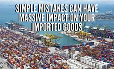 In my continuing series on simple and easily avoided mistakes that have massive impact on your importing and eCommerce business we are…