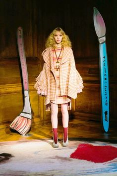 Tsumori Chisato Autumn/Winter 2017 Ready to Wear Collection | British Vogue