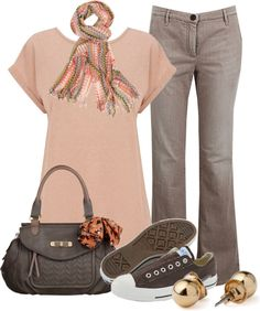 """""""Casual Sunday"""" by my-pretend-closet ❤ liked on Polyvore"""