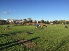 Inaugurato campo di scuola di mountain bike. L'assessore allo sport Celli: «Restituiamo alla città un'area verde abbandonata per anni. L'Etruska Bike ha fatto un lavoro eccezionale»