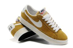 Top rated brands of Shoes and much more-all on sale,  numerous discount items at incredibly inexpensive prices.  Shoes attributes the specific and style in the 1st fantastic to style.  These Men Nike Blazer Low Vintage Suede Yellow White will help you achieve your colorful life.
