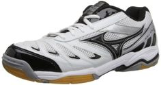 Mizuno Womens Wave Rally 5 Volley Ball ShoeWhiteBlack105 M US ** Want to know more, click on the image.