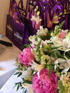 swag bags Swag Bags, Wedding Favours, Big Day, Centerpieces, Reception, Weddings, Create, Decor, Decoration