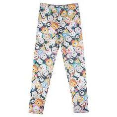 Big Girls' Legging Pants Disney -  Multi-Colored