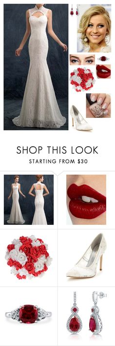 """""""Untitled #766"""" by mjzahner ❤ liked on Polyvore featuring Charlotte Tilbury, Nine West and BERRICLE"""