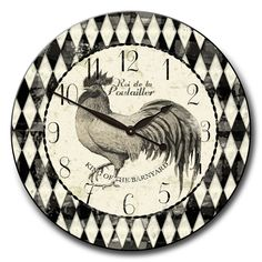 Rooster+Clocks+Kitchen