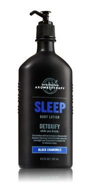 Pride & Groom   Evening Sessions: Seven Grooming Products to Help You Fall Asleep: Bath & Body Works SLEEP Black Chamomile Body Lotion