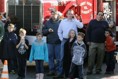 Kids waiting to be reunited with parents after Sandy Hook Elementary School shooting. 12/14/12