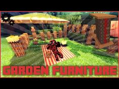 Minecraft garden furniture with only one command block - http://news.gardencentreshopping.co.uk/garden-furniture/minecraft-garden-furniture-with-only-one-command-block/